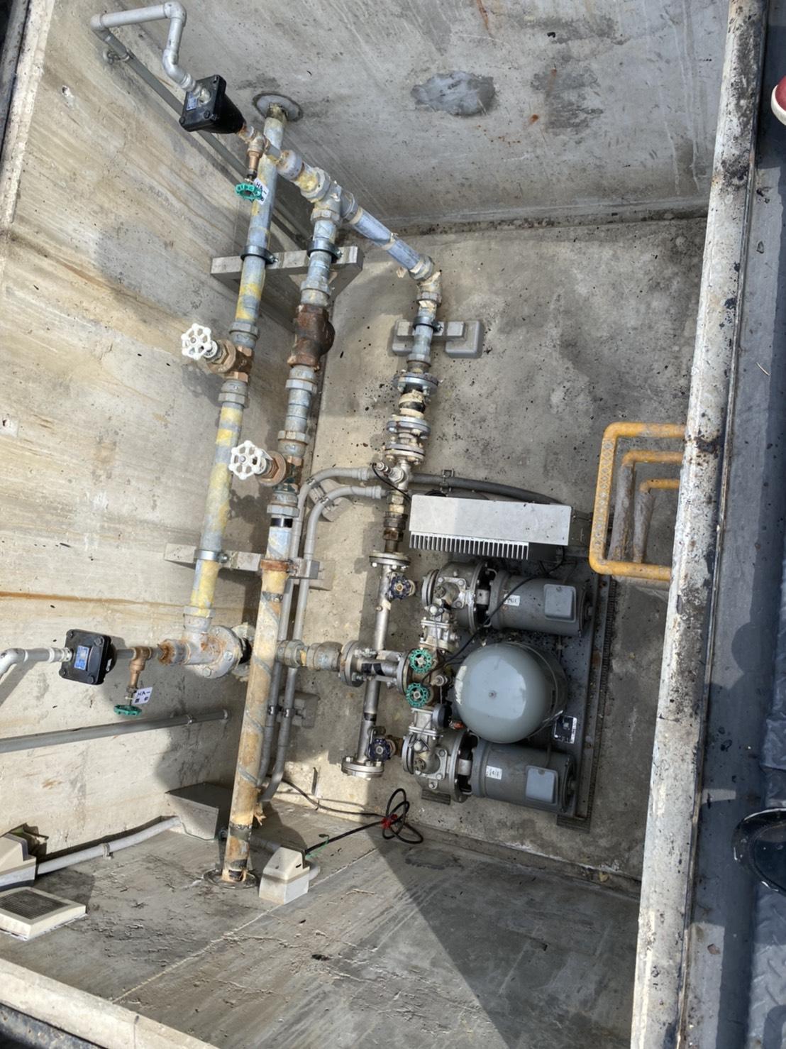 豊田市某所 水道設備更新工事
