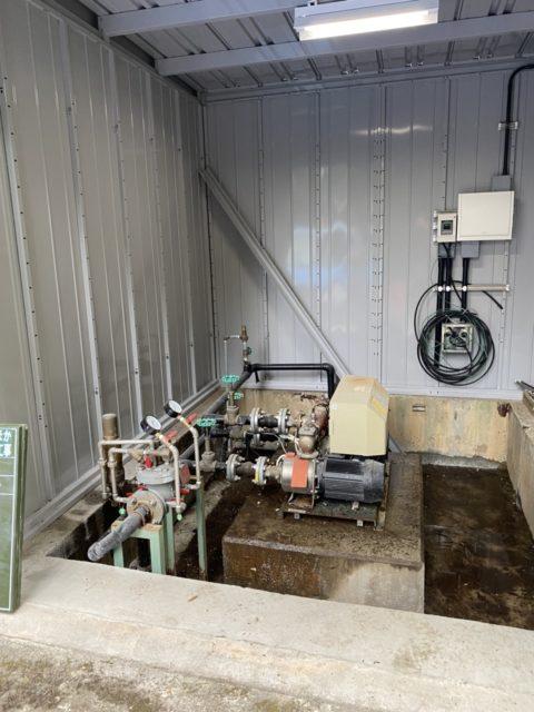 豊田市某所 水道施設のポンプ・配管交換