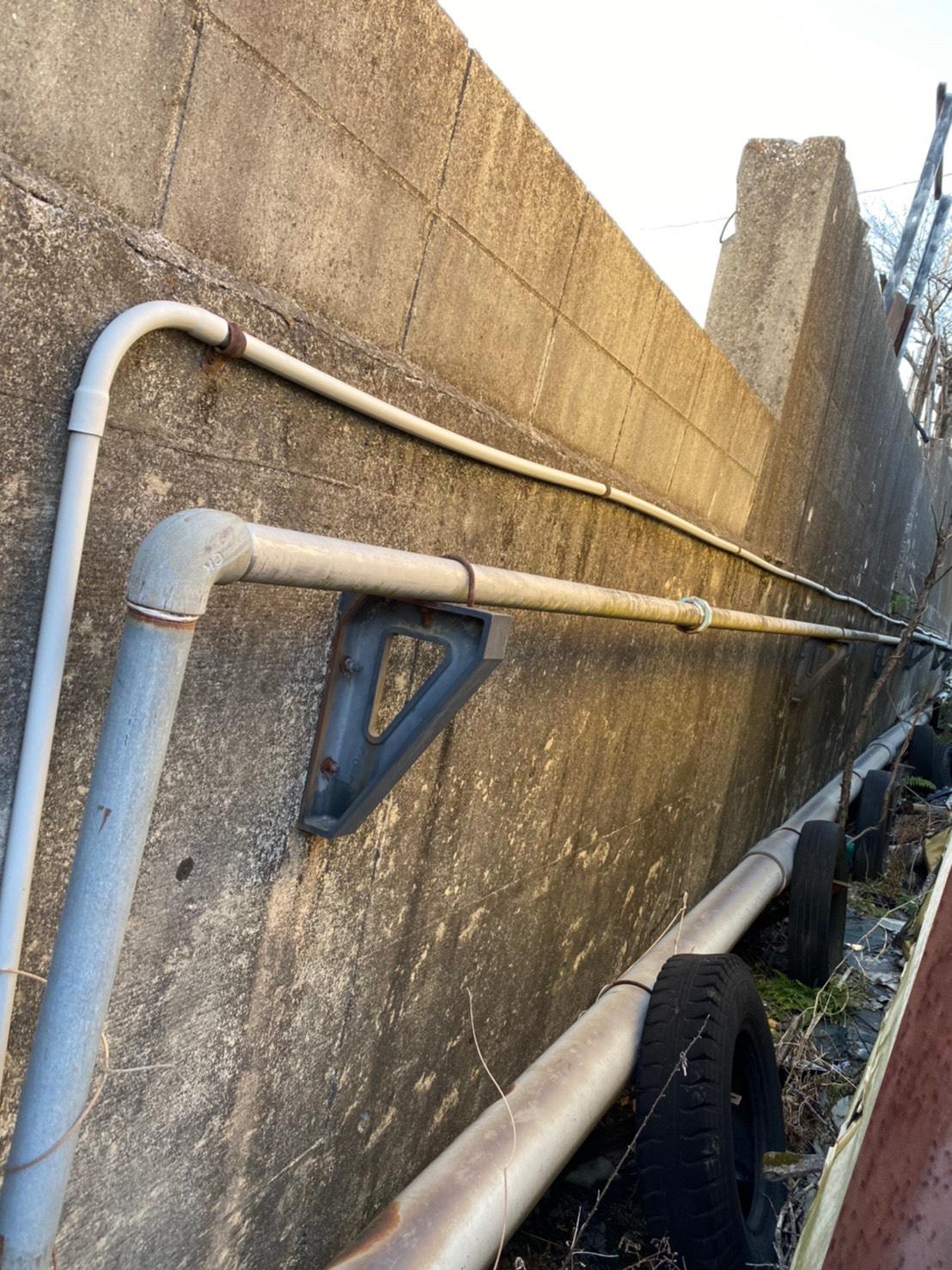 豊田市某所 井戸ポンプ交換 制御盤新規設置工事