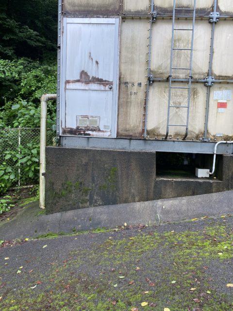 岐阜県某所 加圧給水ユニット交換の為の調査