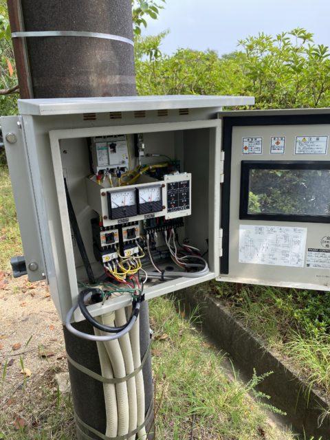 岡崎市某所 汚水ポンプ、制御盤、フロート交換